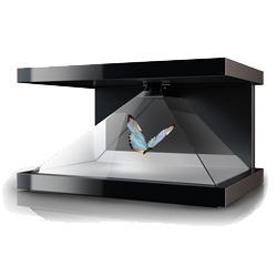 A 3d Holographic Display Packed With Features To Bring Your Clients Products To Life Enveloping Your Clients Physical Product In A Magical 3d Holographic